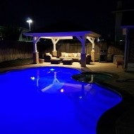 Concrete Pool Patio